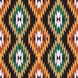 Ikat ornament. Ethnic abstract geometric pattern ikat ornament Stock Photos
