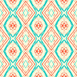 Ikat pattern Stock Photo