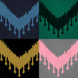 Ikat pattern set Royalty Free Stock Image