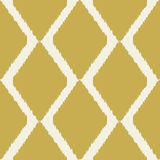 Ikat seamless modern pattern for home decor or web Royalty Free Stock Photography