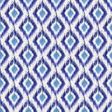 Ikat seamless pattern Stock Image