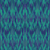 Ikat Seamless Pattern Design for Fabric.  Stock Photography