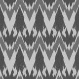 Ikat Seamless Pattern Design for Fabric Stock Image