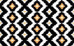 Ikat seamless  pattern Royalty Free Stock Photos