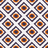 Ikat seamless pattern for web design or home decor Royalty Free Stock Image