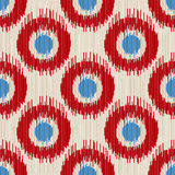 Ikat seamless Royalty Free Stock Image