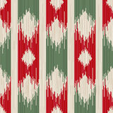 Ikat seamless Royalty Free Stock Photography