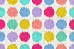 Ikat steamless pattern. Royalty Free Stock Image