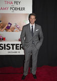 """Ike Barinholtz. Actor Ike Barinholtz arrives on the red carpet for the world premiere of the bawdy comedy, """"Sisters,"""" at the Ziegfeld Theatre in New York Stock Images"""