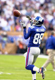 Ike Hilliard. New York Giants WR Ike Hilliard, #88.  (Image taken from color slide Royalty Free Stock Photo