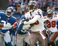 Ike Hilliard, Tampa Bay Buccaneers Photo libre de droits