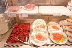 Ikea存储-食物 免版税图库摄影