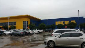 Ikea Śródpolna wycieczka Obrazy Royalty Free