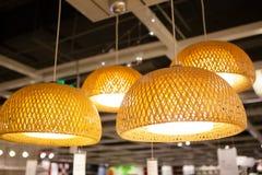 IKEA almacena en las lámparas de Chengdu Imágenes de archivo libres de regalías