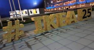IKEA 25 ans d'EAU Photo libre de droits