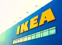 Ikea armazena o sinal Fotografia de Stock Royalty Free