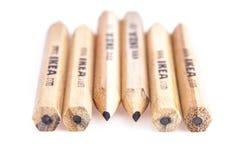IKEA blyertspenna arkivbild