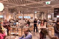 Ikea-Café lizenzfreie stockfotografie
