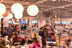 Ikea cafe Stock Photo