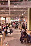 Ikea cafe Royalty Free Stock Photo