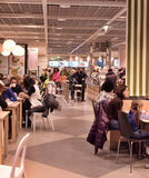 Ikea cafe Royalty Free Stock Photography