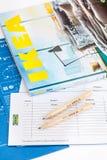 IKEA-catalogus royalty-vrije stock foto