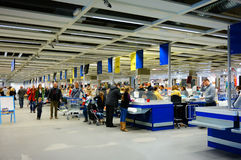 IKEA check-out Royalty Free Stock Photography