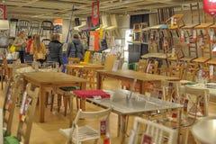 Ikea domowego ulepszenia sklep Zdjęcia Royalty Free