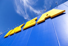 Ikea-embleem Stock Foto