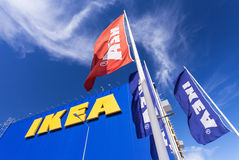 Ikea enregistrent Images libres de droits
