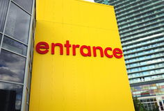 Ikea Entrance Sign Stock Image