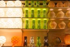 IKEA entreposé dans des lampes de Chengdu Image libre de droits