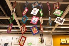 IKEA entreposé dans l'album de Chengdu Photos libres de droits