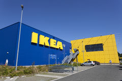 IKEA entreposé dans Siegen, Allemagne image libre de droits