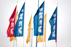 Ikea flags Royalty Free Stock Photos