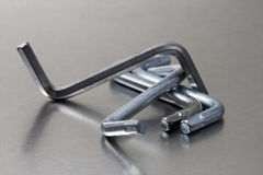 Ikea Hex Keys Royalty Free Stock Images