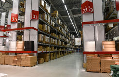 Ikea immagazzina Fotografia Stock