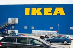 Ikea imposing store Royalty Free Stock Photos