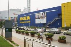 IKEA Kuala Lumpur Store Malaysia. KUALA LUMPUR, MALAYSIA - JULY 26: IKEA Kuala Lumpur Store on July 26, 2014 in Kuala Lumpur, Malaysia. It is the world's largest Royalty Free Stock Image