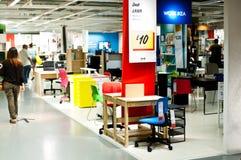 Ikea lager Arkivbild