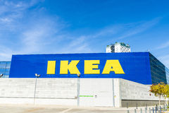 Ikea lager Royaltyfria Foton