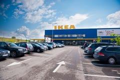 IKEA lager i Vilnius, Litauen Royaltyfri Bild