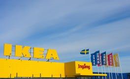 Ikea. MARIEBERG, SWEDEN - MAY 22, 2017 [ IKEA furniture store at Mariebergs, Örebro, Sweden Stock Photos