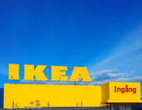 Ikea. MARIEBERG, SWEDEN - MAY 22, 2017 [ IKEA furniture store at Mariebergs, Örebro, Sweden Royalty Free Stock Image