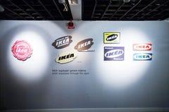 IKEA-museum, Almhult, Zweden Royalty-vrije Stock Afbeelding