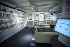 IKEA-museum, Almhult, Zweden Stock Afbeelding
