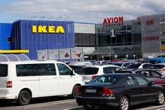 Ikea och Avion Royaltyfri Bild