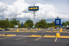 Ikea parking lot Royalty Free Stock Photography