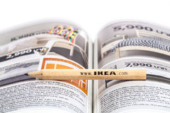 IKEA pencil Stock Image