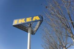 IKEA podpisuje Zdjęcie Stock